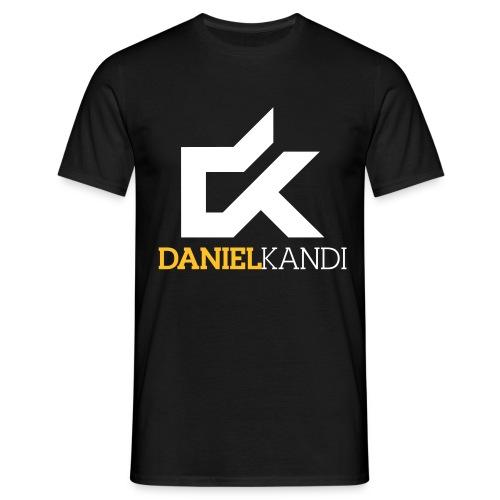 kandi black background - Men's T-Shirt
