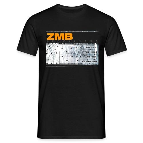 ZMB APOCALYPSE - Männer T-Shirt