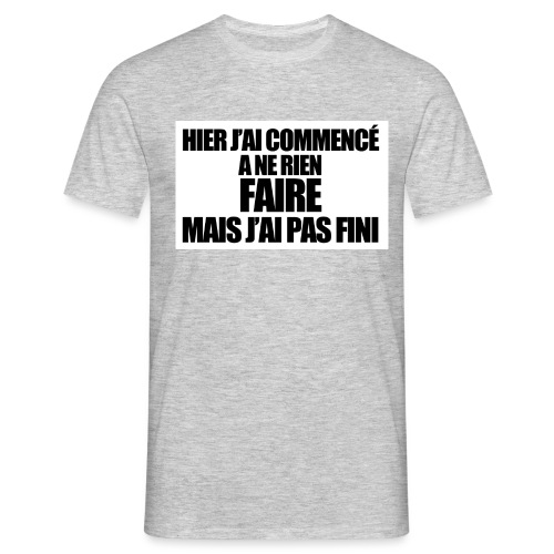hier - T-shirt Homme