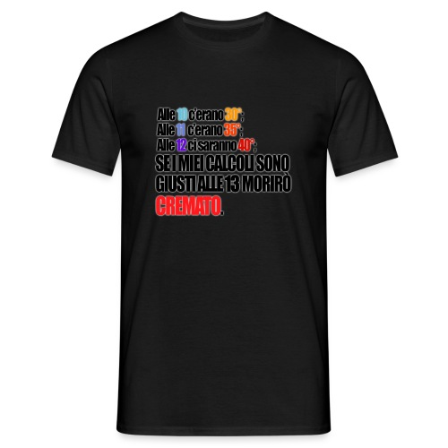 motivo 9 png - Maglietta da uomo