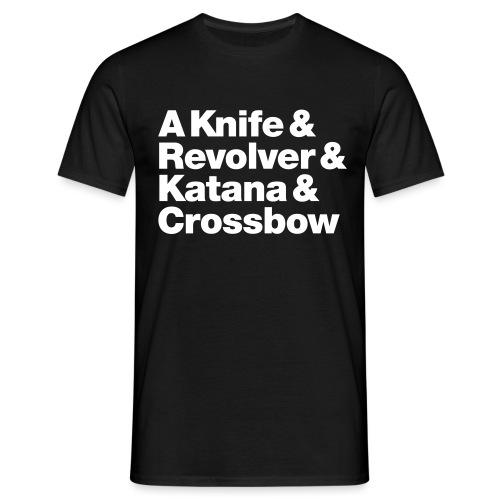 Zombie Weapons - Männer T-Shirt