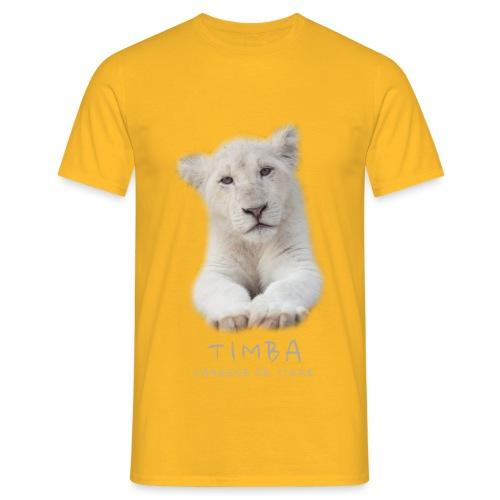 Timba bébé portrait - T-shirt Homme