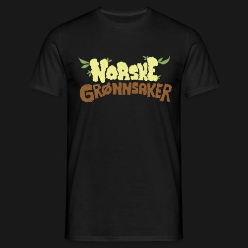 'Norske Grønnsaker' - T-skjorte for menn