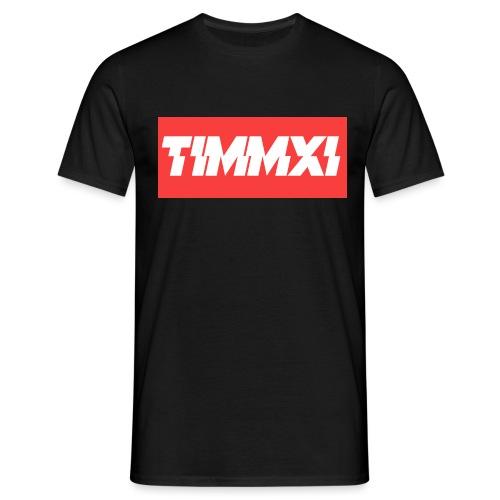 TimmXI T-shirt Zwart - Mannen T-shirt