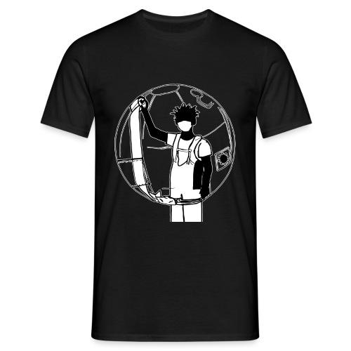 Karantän (black edition) - T-shirt herr