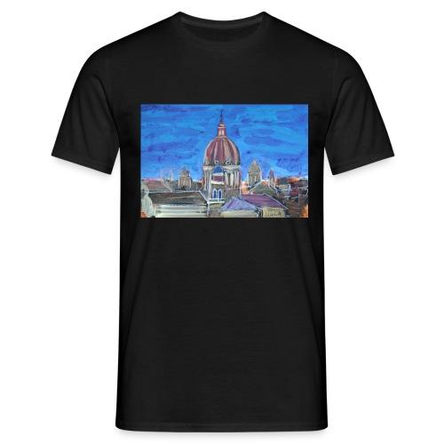 Veduta di Roma - Maglietta da uomo