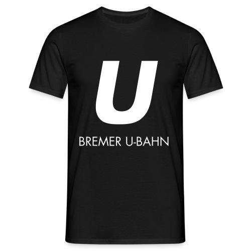hbu logo 027 full spreadshirt motiv 2 - Männer T-Shirt