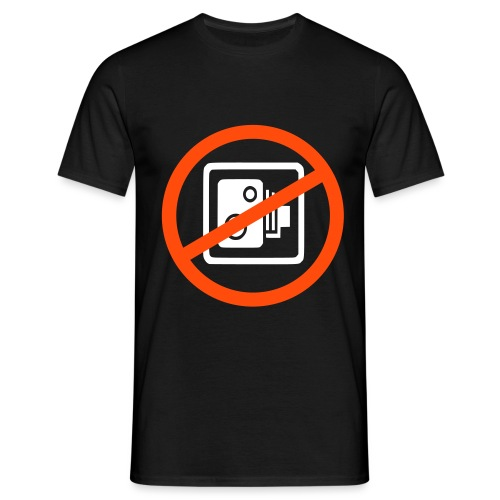 no_camera_eps - Men's T-Shirt