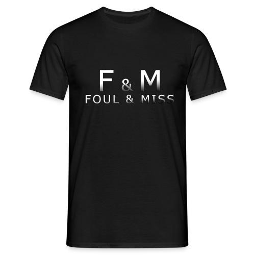 fmshirt snooker - Männer T-Shirt