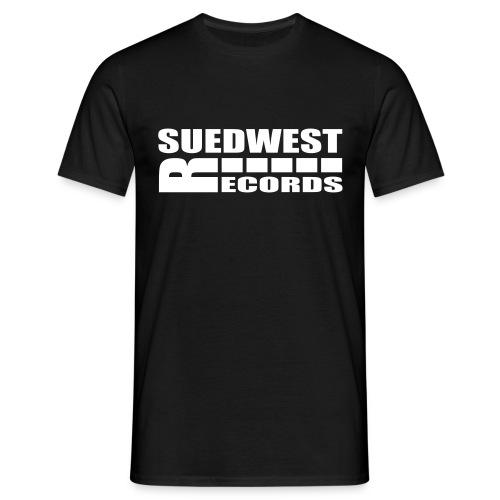 suedwestrecordslogofarbe 2 - Männer T-Shirt