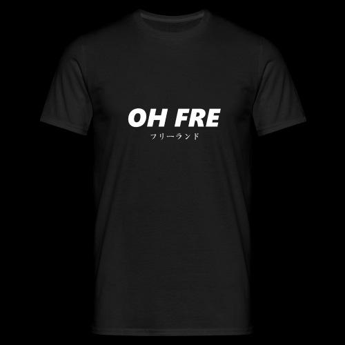 Oh Fre white - Maglietta da uomo