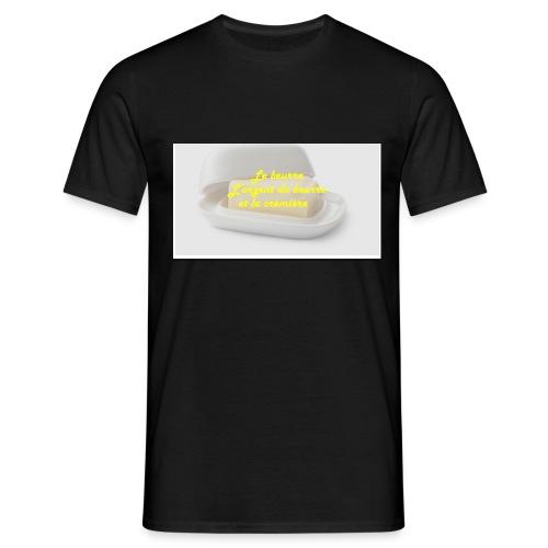 Le beurre - T-shirt Homme
