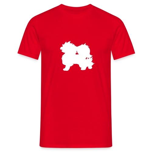 All white Arcanine Merch - T-shirt Homme