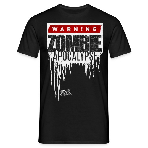 ZOMBIE APOKALYPSE - Männer T-Shirt