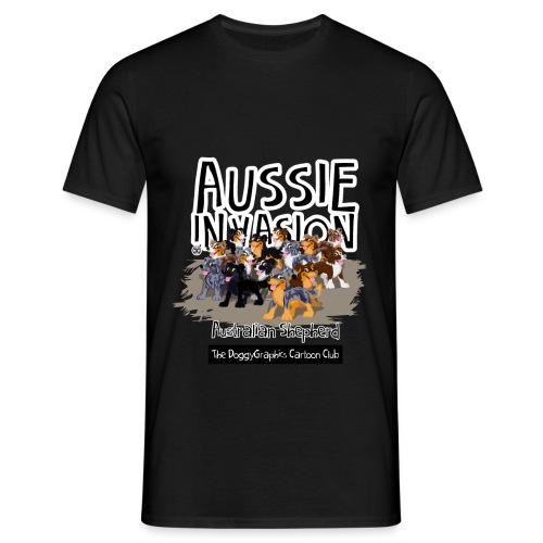 Aussie CartoonClub - AussieInvasion - Men's T-Shirt