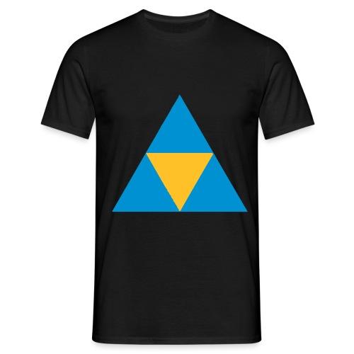 Sierpinski-Pyramide-Dreieck - Männer T-Shirt