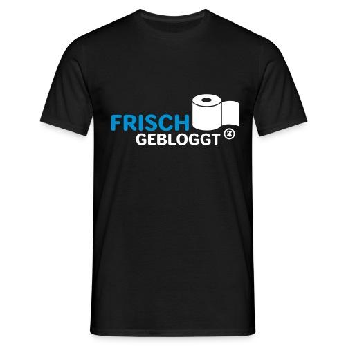 frisch gebloggt - Männer T-Shirt
