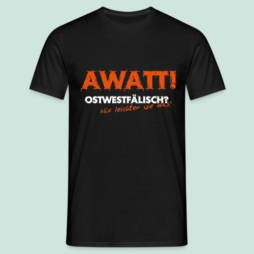 Nix leichter - AWATT - Männer T-Shirt