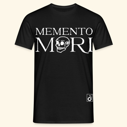 Memento Mori Black bw - Männer T-Shirt