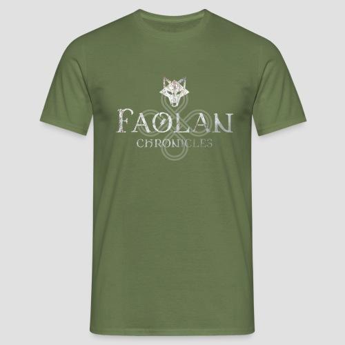 Faolan_Logo Groß - Männer T-Shirt