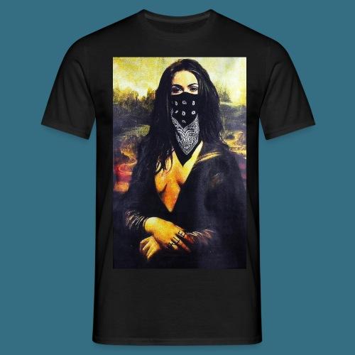 Mona Lisa Gangsta - Koszulka męska