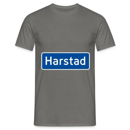 Harstad veiskilt (fra Det norske plagg) - T-skjorte for menn