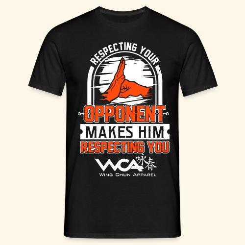 Respecting your opponent - Men's T-Shirt