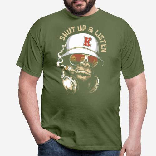 Gorillamusik - Männer T-Shirt