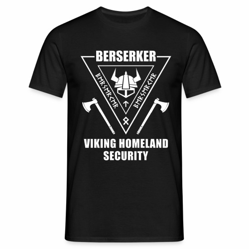 berserker viking homeland security - Camiseta hombre