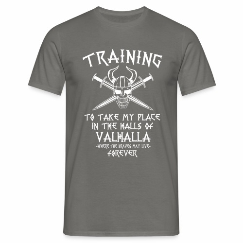 training for Valhalla - Camiseta hombre