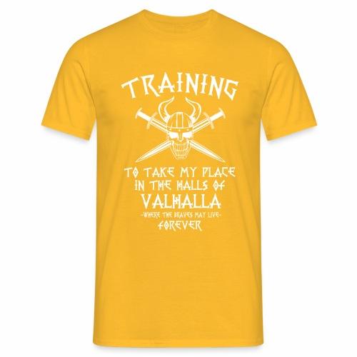 training for Valhalla - Camiseta hombre
