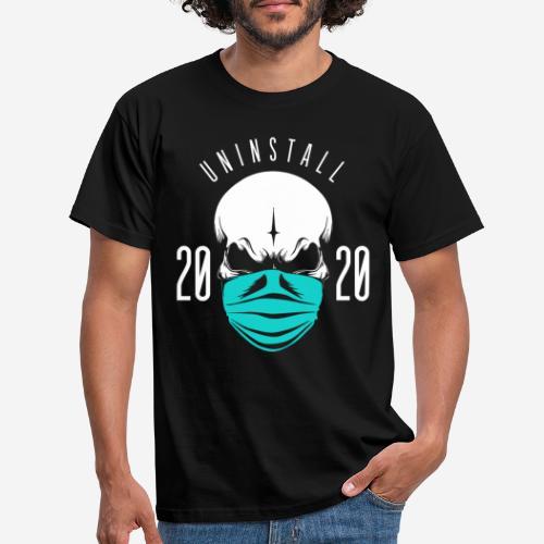 2020 deinstallieren - Männer T-Shirt