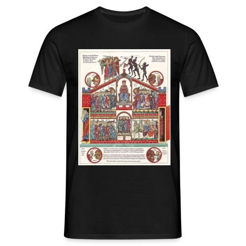 Hortus Deliciarum eccesia - Koszulka męska