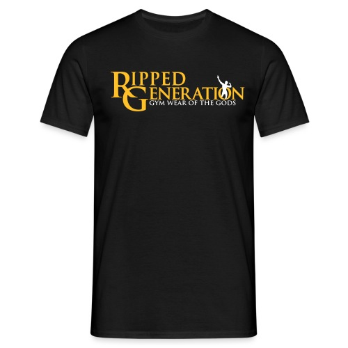 Ripped Generation Tekstilogo Kulta - Miesten t-paita