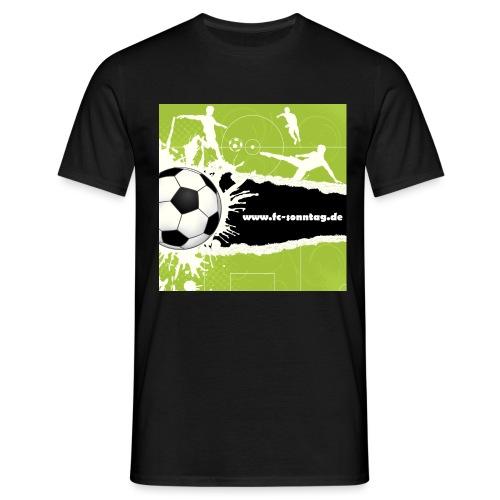 FC Sonntag Weblogo - Männer T-Shirt
