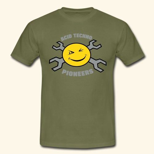ACID TECHNO PIONEERS - SILVER EDITION - Men's T-Shirt