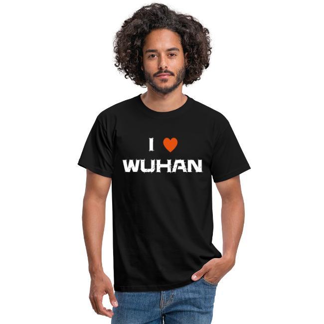 I LOVE WUHAN CORONA VIRUS