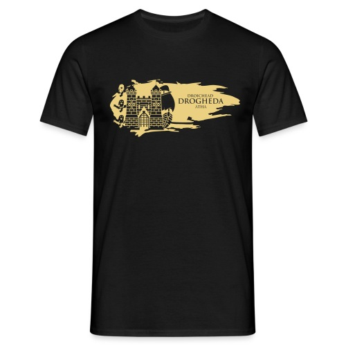 Drogheda Laurences Gate Gold - Men's T-Shirt
