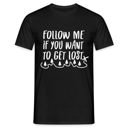 Outdoor Natur Wandern Geschenk Spruch - Männer T-Shirt