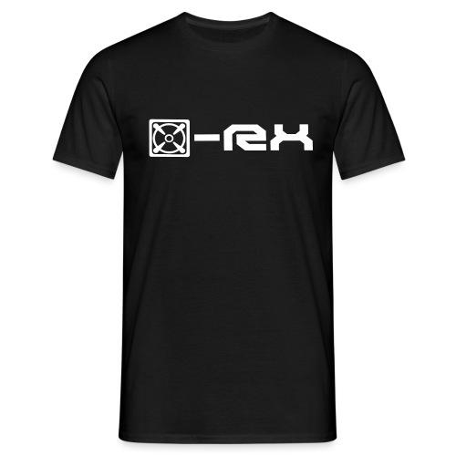 x rx logo shirts png - Männer T-Shirt