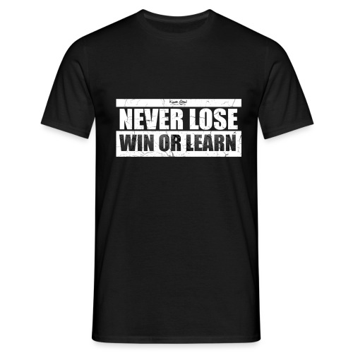 quote 4 wht png - Men's T-Shirt
