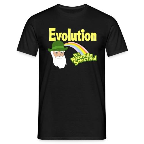 Evolution - it's Naturally Selective - Men's T-Shirt