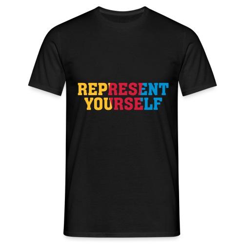 RY color flag - Koszulka męska