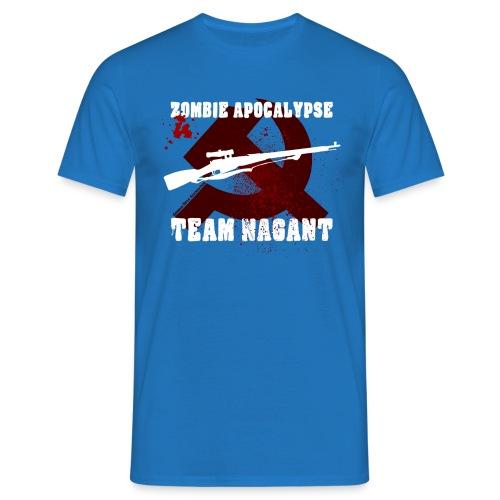 Zombie Apocalypse Team Nagant - Männer T-Shirt