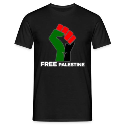 FreePalestine White - Men's T-Shirt