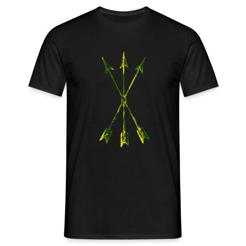 Scoia tael emblem green yellow - Men's T-Shirt