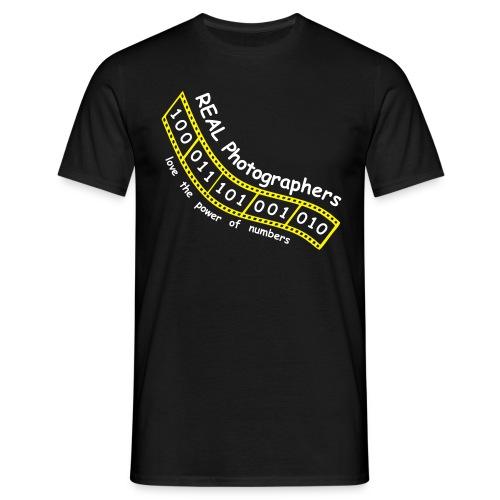 Real Photographer(Digital) - Men's T-Shirt