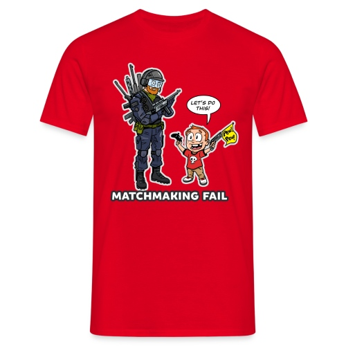 matchmaking1 - Men's T-Shirt
