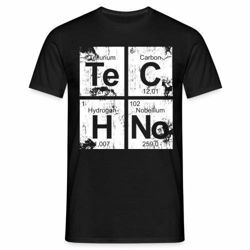 Dirty Techno Chemie - Männer T-Shirt