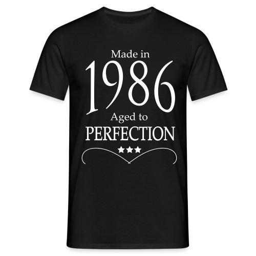 Made in 1986 - Männer T-Shirt